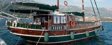 Гулет — роскошное деревянное судно
