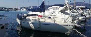 Аренда - прогулка на парусной яхте Comfort 30 по Боко Которской. Черногория
